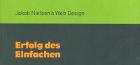 Jakob Nielsen: Erfolg des einfachen