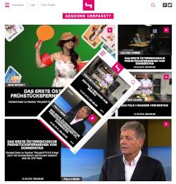 Neue TV-Plattform puls4.com
