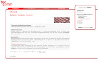 Umstellung der bsc comm Seite auf W3Self